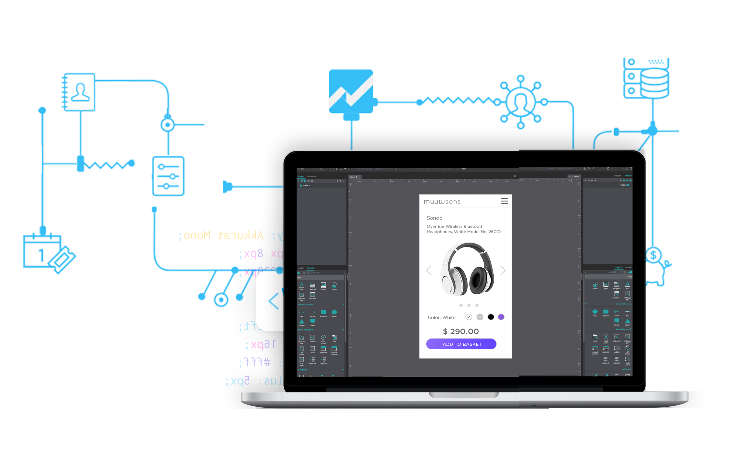 Extend the functionality of Justinmind prototyping tool with our API SDK