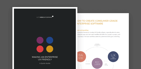 Justinmind free ebook enterprise UX