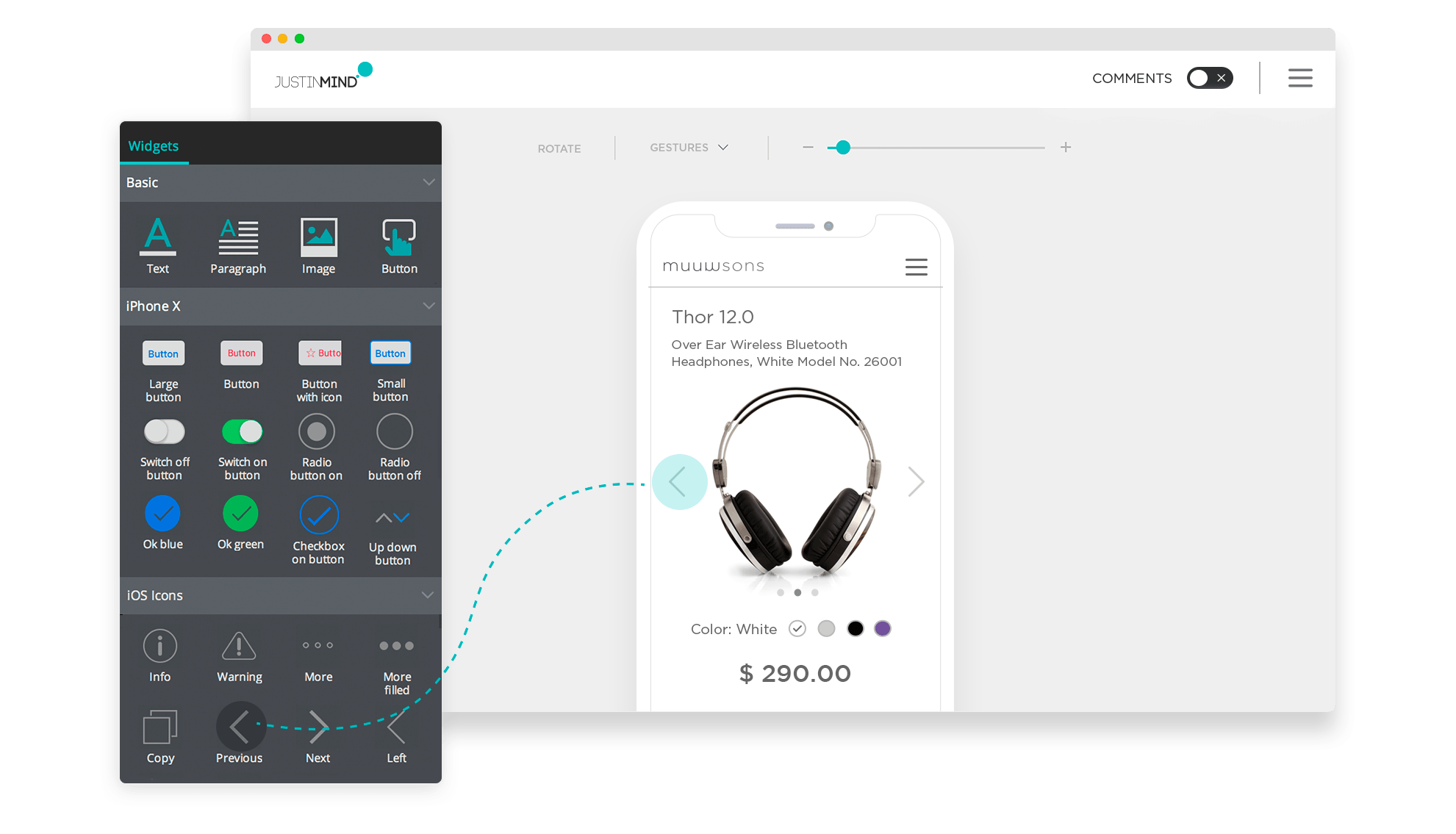 4000+ UI elements for prototyping