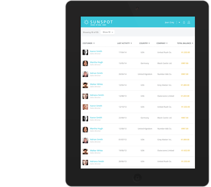Enterprise mobile application prototype