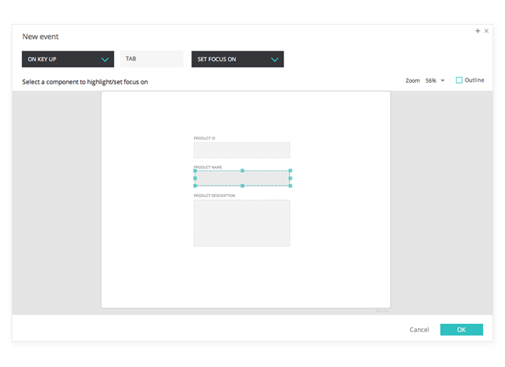 Interactive wireframes: autopopulate text fields