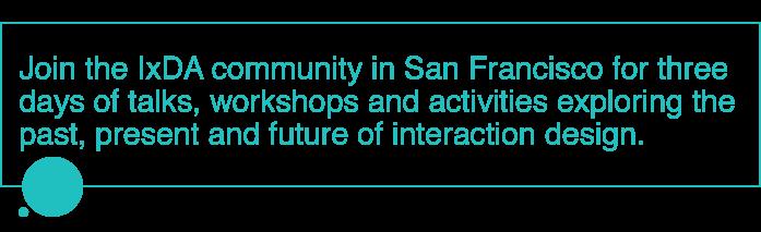 IxDA Community - San Francisco