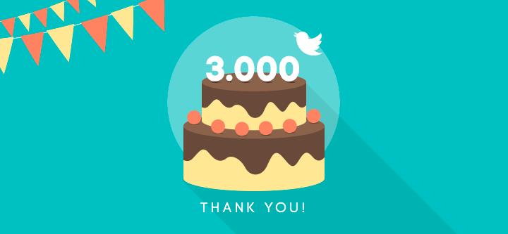 3000-followers-twitter
