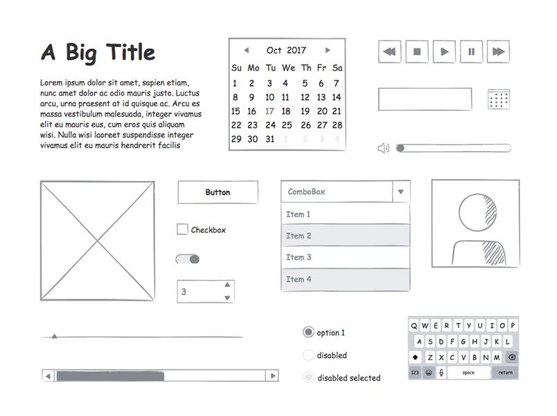 ui-elements-design-sketching-ui-kit