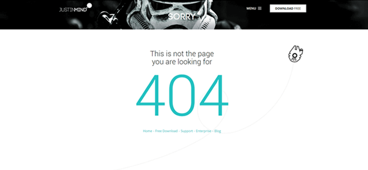 best-404-pages-justinmind