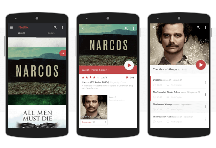 netflix-android-app-sketch