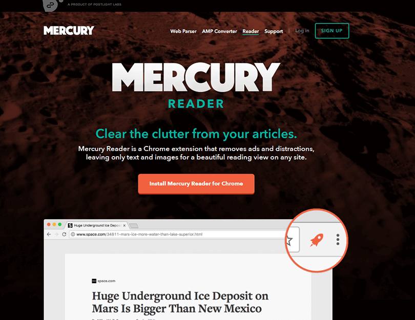 ux-landing-page-examples-mercury-reader