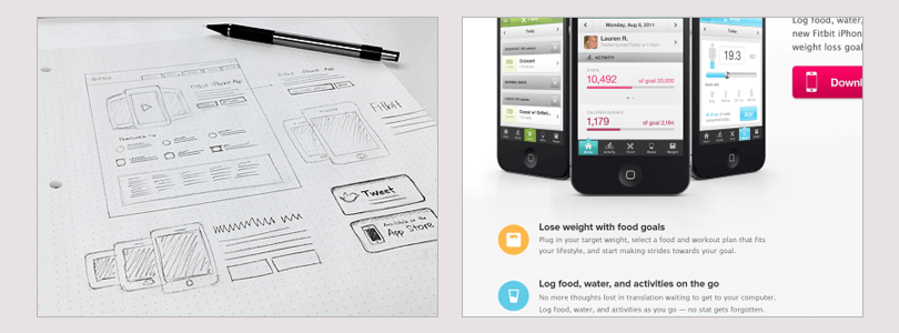 landing-page-web-wireframe-fitbit