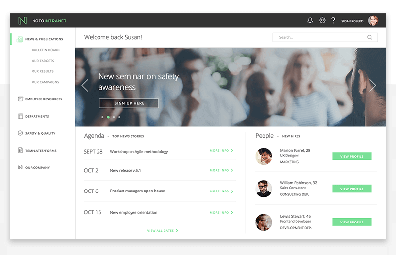 office-fabric-ui-framework-homepage