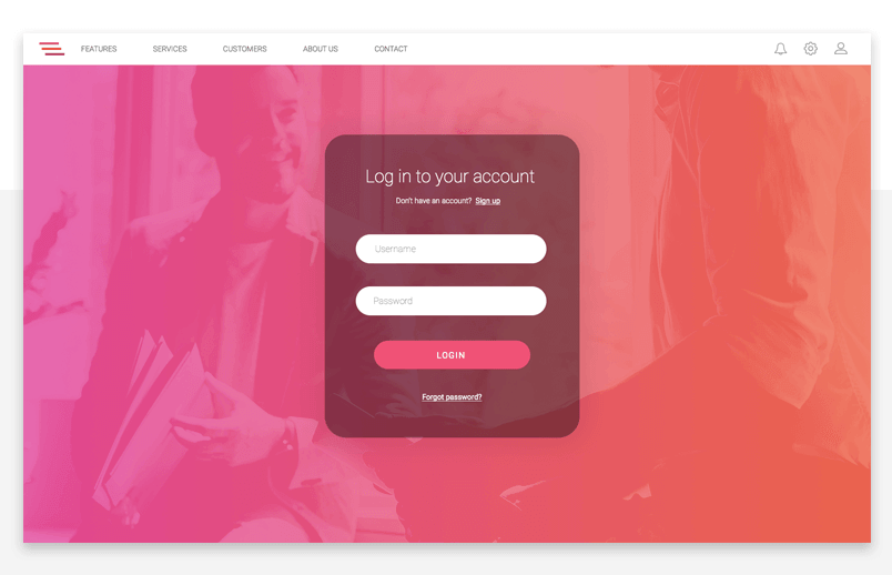 prototyping-elearning-platform-login-experience