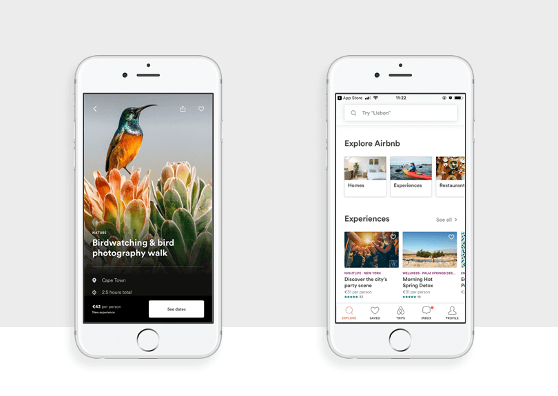 airbnb best mobile app designs of 2017