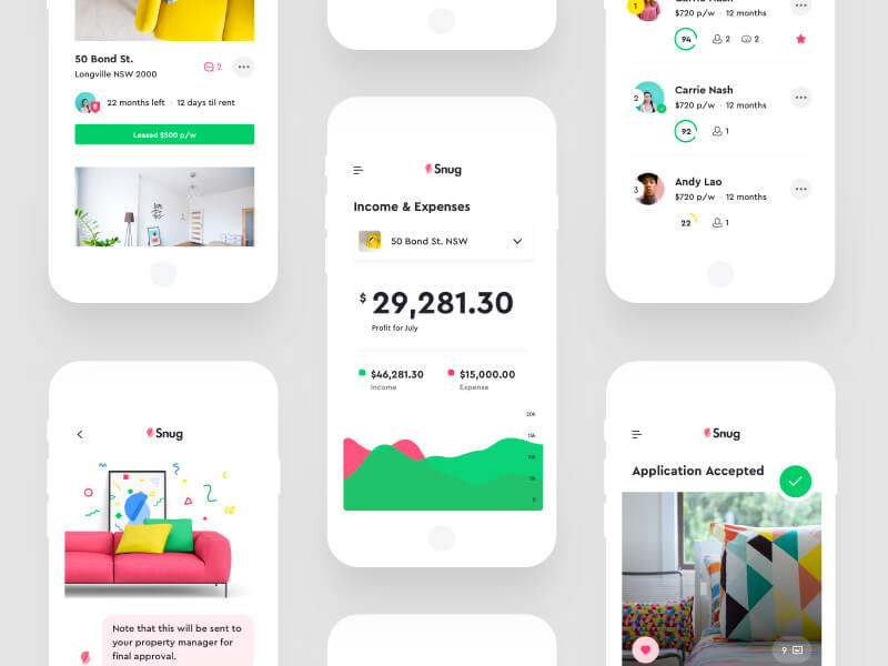 snug part of list of best app designs of 2017