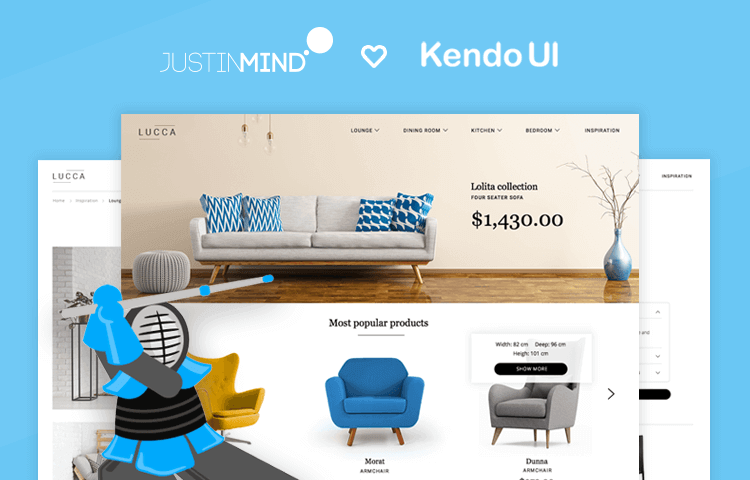 kendo ui widget library prototyping tool ux design