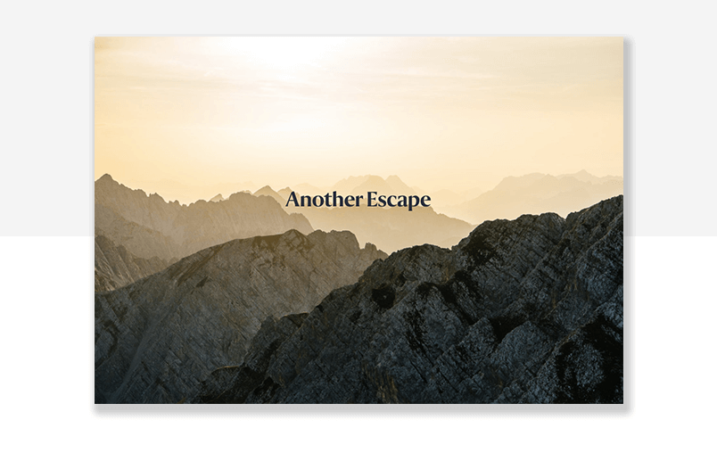 example of magazine website with parallax effect