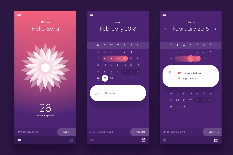 arnas good calendar app design