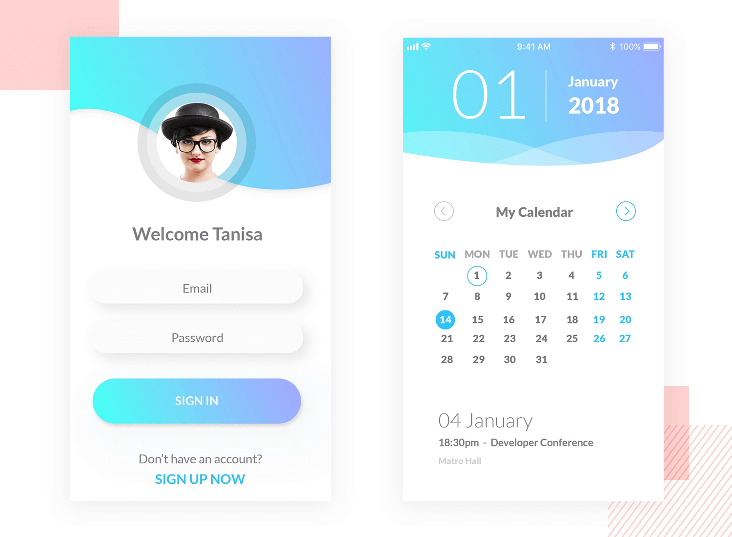 tauhid saujib calendar app design for good ux