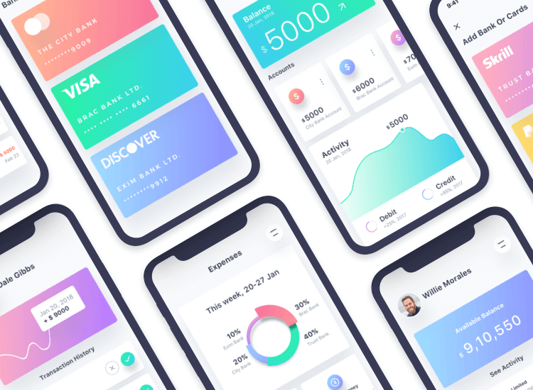 iphone-x-app-design-inspiration-ux-design-ishtiaq-khan
