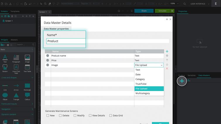 product data master