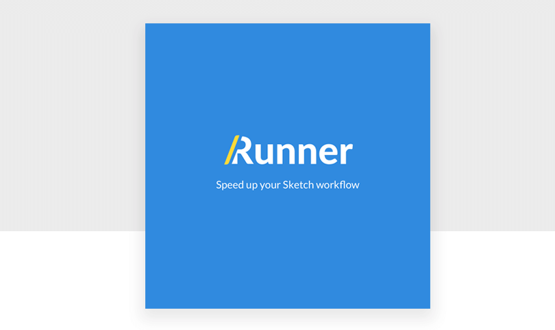 sketch extensions - keyboard shortcut RUNNER