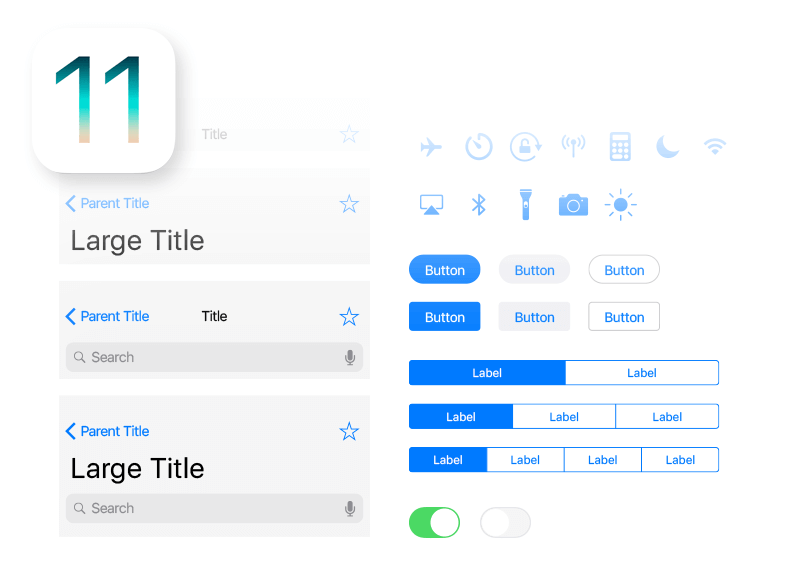 designing with iphone x ui kit from justinmind