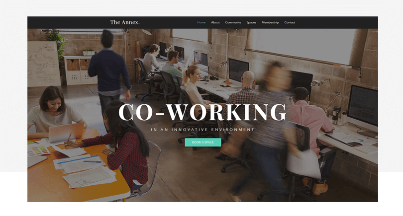 5-web-design-templates-co-working-space