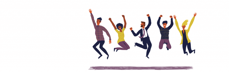 people-celebrating-their-new-job
