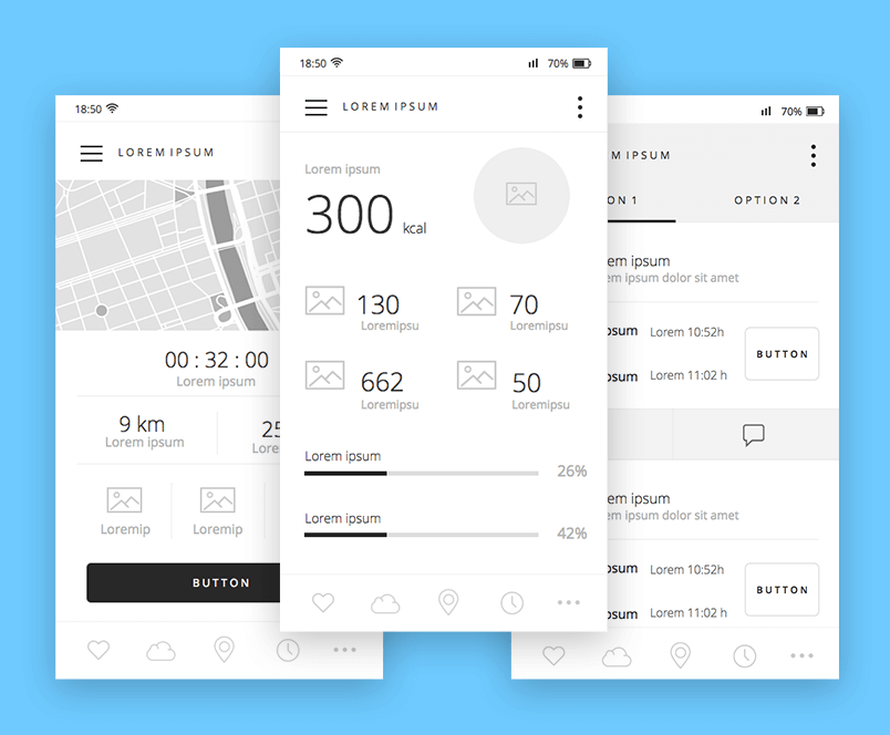 free-mobile-wireframing-ui-kit-overview