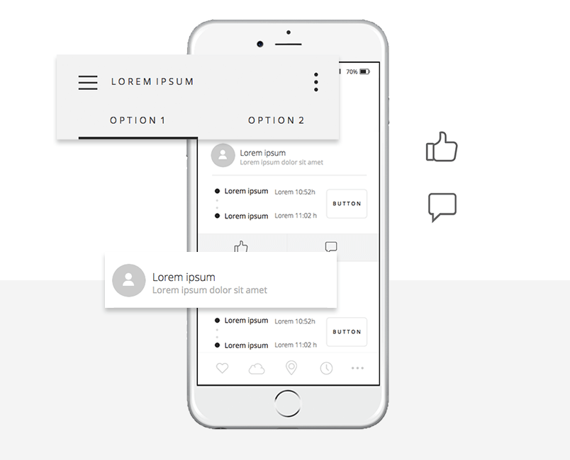 free-mobile-wireframing-ui-kit-share-connect