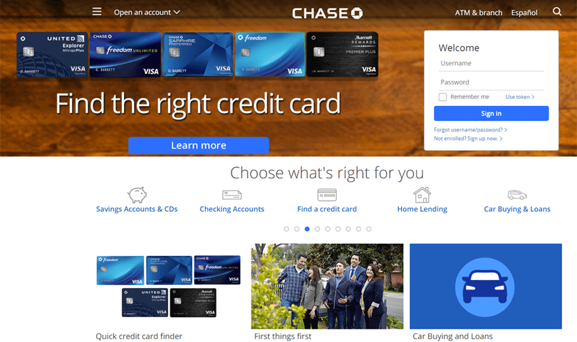 Chase_landing_page