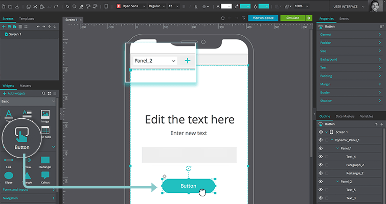 change value text input widget
