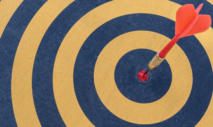 dart-in-a-bullseye