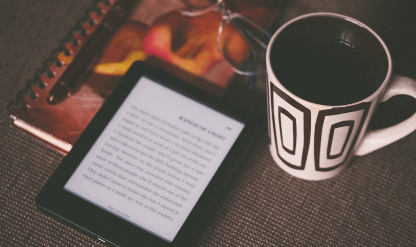 kindle-with-a-mug