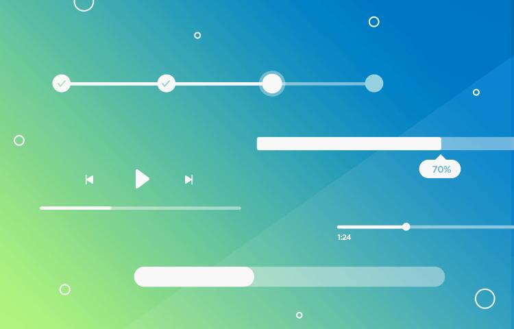 Progress bars - multiple use cases