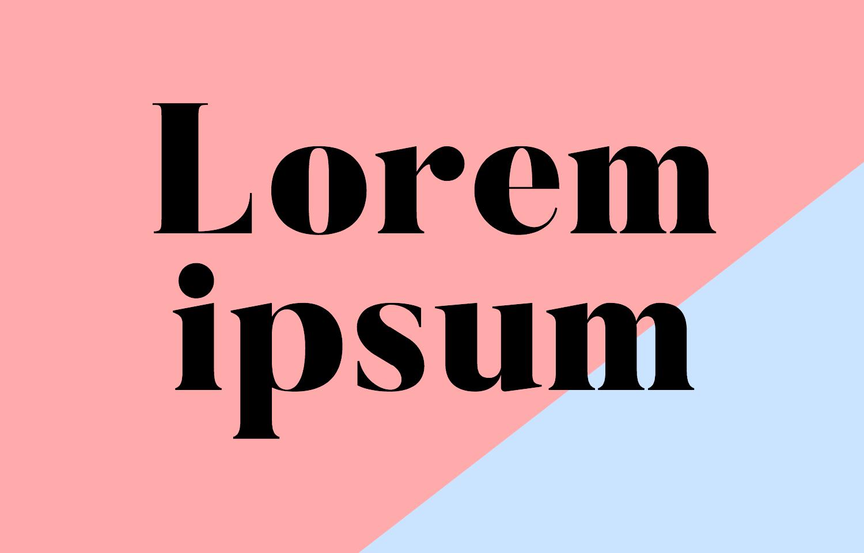 Resultado de imagem para foto lorem ipsum