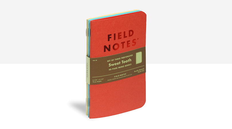 Field Notes - UX gifts - Justinmind
