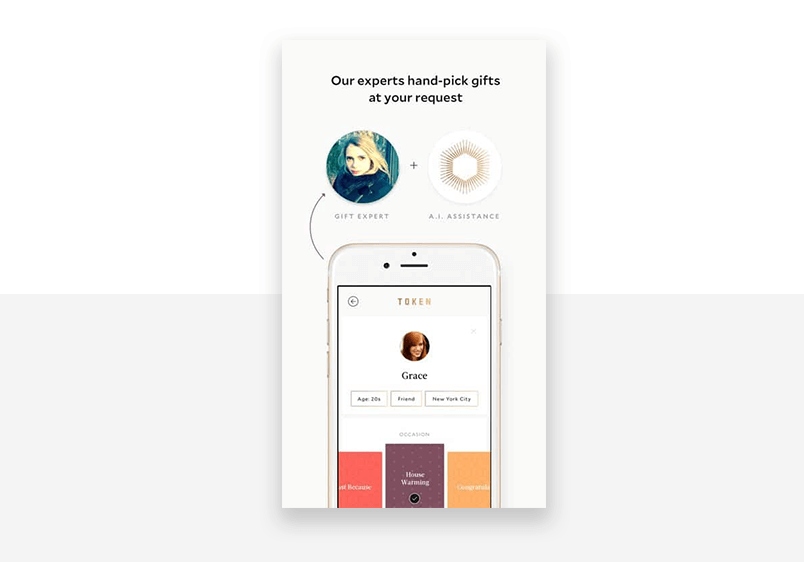 Example of good interaction design - simplistic aesthetics, simple design
