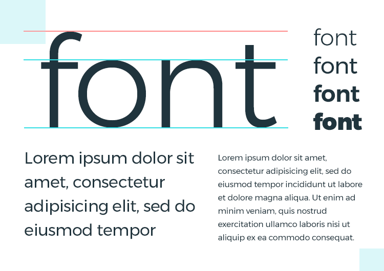 factors in typhography in choosing best google font