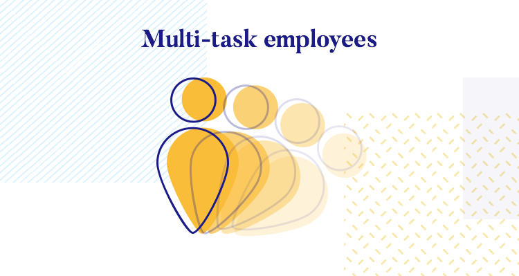 employees can multi-task but enterprise ux pushes performance without the added stress