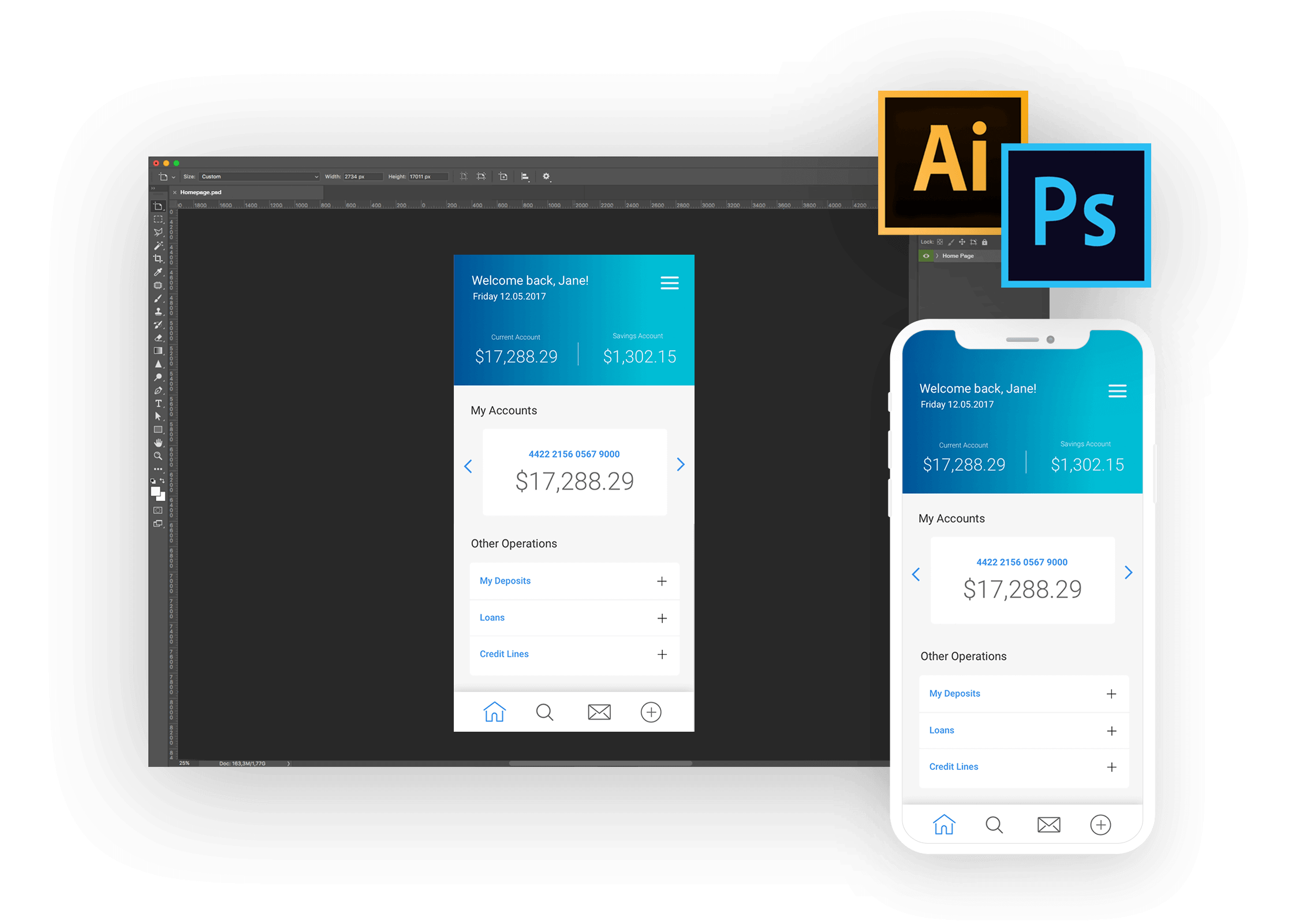 Adobe integration with Justinmind