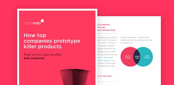 Justinmind free ebook on design case studies