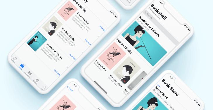 Justinmind iOS UI kit