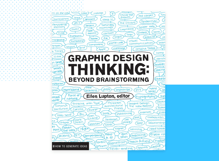 cover of design thinking book