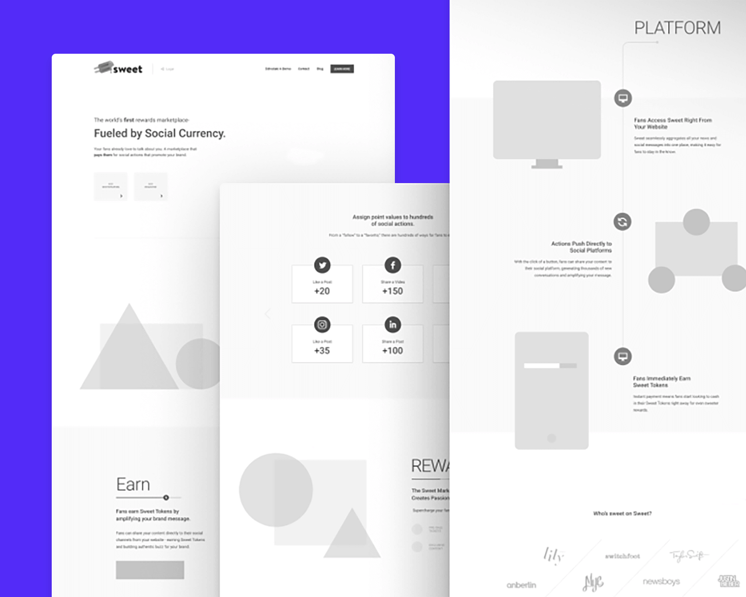 20 Wireframe Examples For Web Mobile Design Inspiration Justinmind