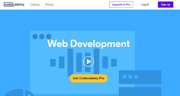 Online web development courses - Code Academy