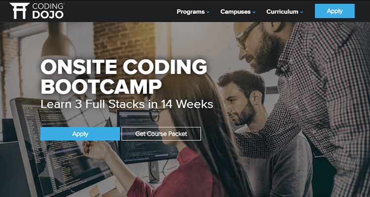 In-class web development course - Coding Dojo (US)