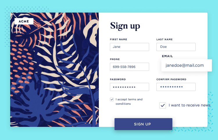 web form design guidelines