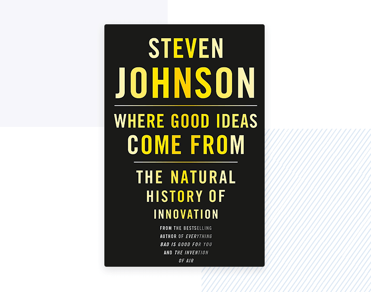 cover of design thinking book - where do good ideas come from