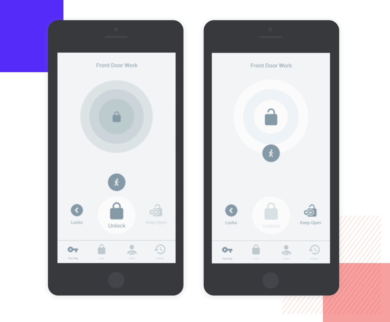 smart home app wireframe example