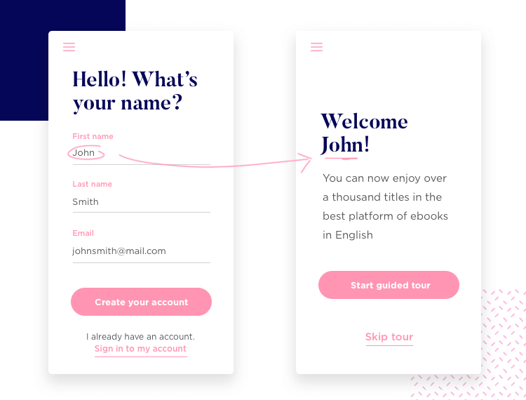 Create variable that work across pages with the Justinmind mockup tool