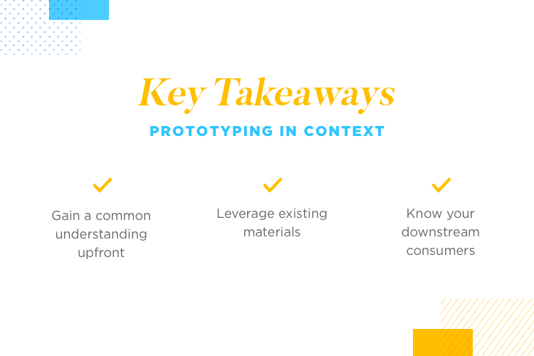 summary of key points of rapid prototyping at SEI